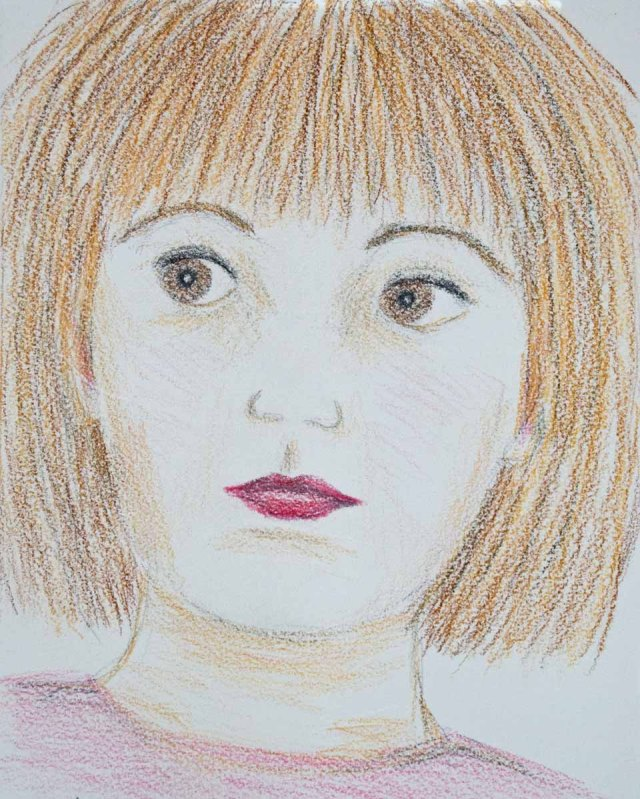 portrait of a girl 1