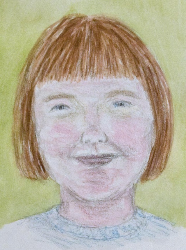 Joanie 1961 watercolor