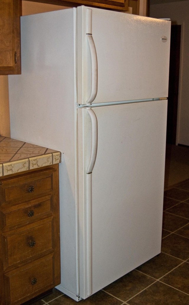 old fridge 2